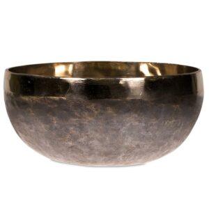 Bol Tibétain Ishana noir et or